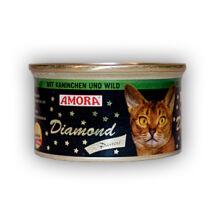 Amora Diamond Katze Kaninchen+Wild, (nyúl + vadhús) konzerv macskáknak, 200 g