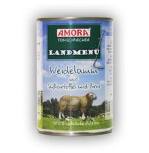 Amora Feinschmecker Hund Landmenü, (bárányhússal és burgonyával) konzerv kutyáknak, 400 g