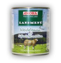 Amora Feinschmecker Hund Landmenü, ( bárányhússal és burgonyával) konzerv kutyáknak, 800 g