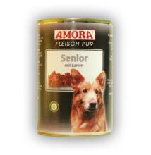 Amora Fleisch Pur Hund Senior Lamm, konzerv kutyáknak, 400 g