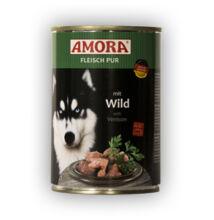 Amora Fleisch Pur Hund Wild, konzerv kutyáknak, 400 g