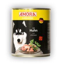 Amora Fleisch Pur Hund Huhn, (Csirkehúsos) konzerv kutyáknak, 800 g
