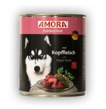 Amora Fleisch Pur Hund Kopffleisch, konzerv kutyáknak, 800 g