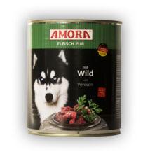 Amora Fleisch Pur Hund Wild, konzerv kutyáknak, 800 g