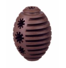 Barry King jutifalat adagoló extra erős gumi rugby játék, barna (S méret) 7-8 cm