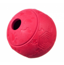 Barry King jutifalat adagoló extra erős gumijáték labirintussal, piros (M) 8 cm