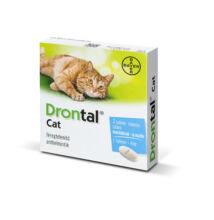 Drontal Cat féregtelenítő macskáknak 2 tabletta/ doboz