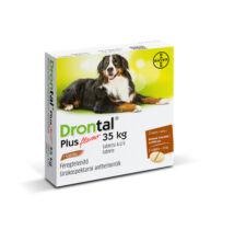 Drontal Plus 35 kg tabletta nagytestű kutyák részére 2 tabletta/ doboz
