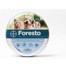 Foresto 38 cm kullancs és bolha elleni nyakörv kistestű kutyák és macskák részére