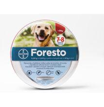 Foresto  70 cm, 8 kg feletti testtömegű kutyák részére kullancsok és bolhák ellen