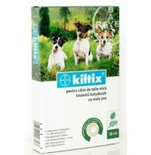 """Kiltix nyakörv kistestű kutyáknak """"S"""" méret kullancsok és bolhák ellen"""