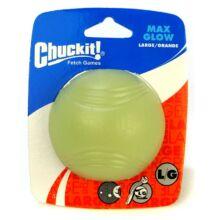 Chuckit! Max Glow sötétben világító labda L méret, 1 db