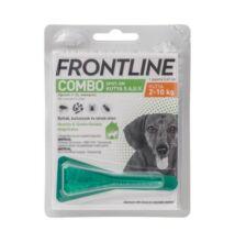 Frontline Combo Spot-On Kutyáknak 1 pipetta,   2-10 ttkg-ig, S-es  méret