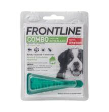 Frontline Combo Spot-On Kutyáknak 1 pipetta,  40-60  ttkg-ig, XL -es  méret