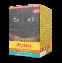 Josera Multipack Filet  6 x 70 g alutasakos nedves táp válogatás felnőtt macskák részére