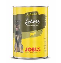 JosiDog Vad szószban 415 g konzerv felnőtt kutyák részére