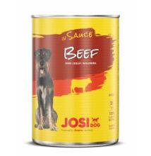 JosiDog Marha szószban 415 g konzerv felnőtt kutyák részére