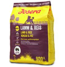Josera Dog Lamb&Rice 900 g száraz táp felnőtt kutyáknak, Bárány/Rizs