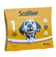 Scalibor kullancs és szúnyogok elleni nyakörv nagytestű kutyák részére 65 cm