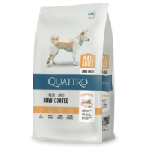 Quattro Maxi Adult Large Breed Szuper Prémium táp nagytestű felnőtt kutyák részére, 3 kg.