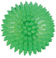 Trixie Játék Gumi tüskés labda, hőre lágyuló, 8 cm