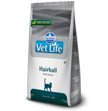 Vet Life Natural Diet Cat Hairball 400g száraz táp