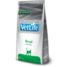 Vet Life Natural Diet Cat Renal 400g száraz táp