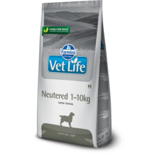 Vet Life Natural Diet Dog Neutered 1-10kg 2kg