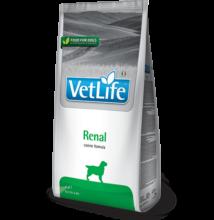 Vet Life Natural Diet Dog Renal 2kg a veseműködés támogatására