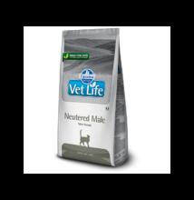 Vet Life Natural Diet Cat Neutered Male Cat 2kg száraz táp