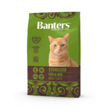 Visán Banters Cat Sterilised Fish & Rice 8 kg