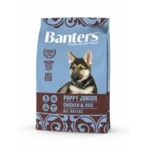 VISÁN BANTERS DOG PUPPY JUNIOR CHICKEN & RICE 3 kg