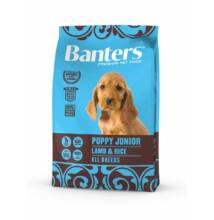 VISÁN BANTERS DOG PUPPY JUNIOR LAMB & RICE 3 kg
