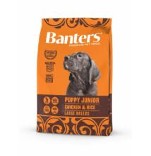 VISÁN BANTERS DOG PUPPY JUNIOR LARGE BREED CHICKEN & RICE 3 kg