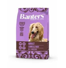 VISÁN BANTERS DOG ADULT LAMB & RICE 3 kg