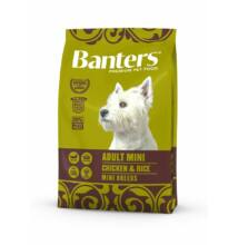 VISÁN BANTERS DOG ADULT MINI CHICKEN & RICE 3 kg