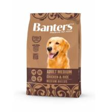 VISÁN BANTERS DOG ADULT MEDIUM CHICKEN & RICE 3 kg