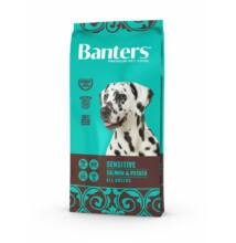 VISÁN BANTERS DOG SENSITIVE FISH & POTATO 15 kg