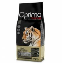 Visán Optimanova Cat Adult Chicken & Rice 400 g