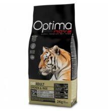 Visán Optimanova Cat Adult Chicken & Rice 400 g