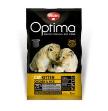 Visán Optimanova Cat Kitten Chicken & Rice 2 kg