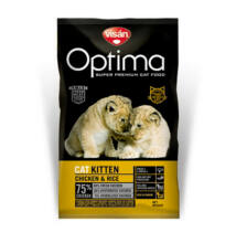 Visán Optimanova Cat Kitten Chicken & Rice 400 g