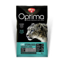 Visán Optimanova Cat Sterilised Chicken & Rice 400 g