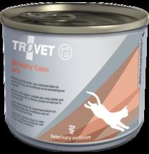 TROVET  URINARY& CALM Diet/UCD  200 g konzerv macskák részére