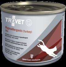 TROVET Hypoallergenic TURKEY&RICE Diet/TRD macskáknak 200 g konzerv 12 db