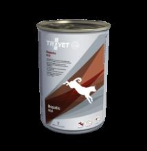 TROVET HEPATIC/HLD Májkímélő táp kutyáknak 6 x 400 g konzerv
