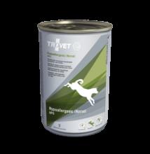 TROVET Hypoallergenic HORSE&POTATO Diet (HPD) kutyáknak 400 g konzerv, hipoallergén lóhússal