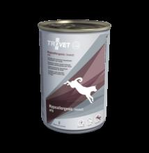 TROVET  Hypoallergenic INSECT&POTATO Diet/IPD kutyáknak 400 g konzerv 12 db rovar fehérjével