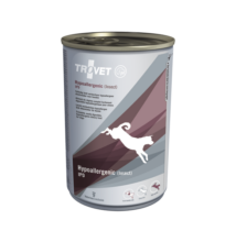 TROVET  Hypoallergenic INSECT&POTATO Diet/IPD kutyáknak  6 x 400 g konzerv rovar fehérjével