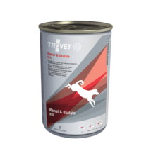 TROVET RENAL&OXALATE DIET/RID konzerv felnőtt kutyáknak, 400g 12 db